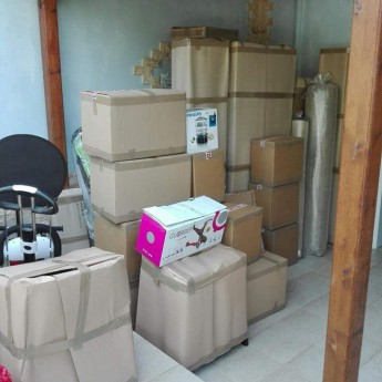 Συσκευασία και φόρτωση για Κύπρο
